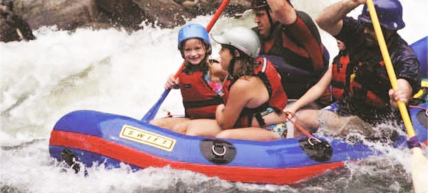 October White Water Rafting in Elkhorn City, KY