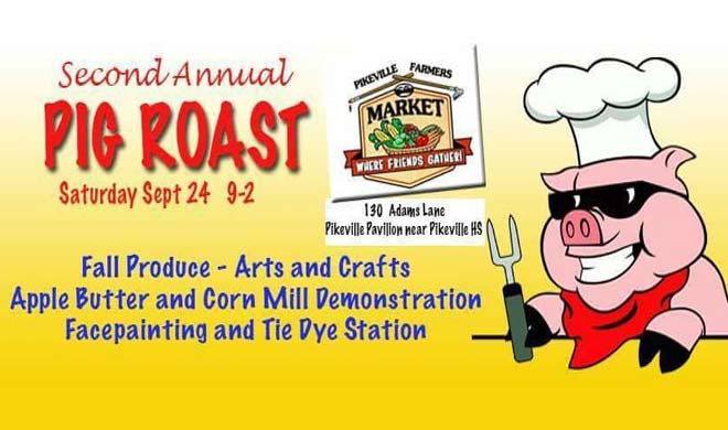 Pikeville Farmer's Market: A Pig Roast with the Hatfields & McCoys
