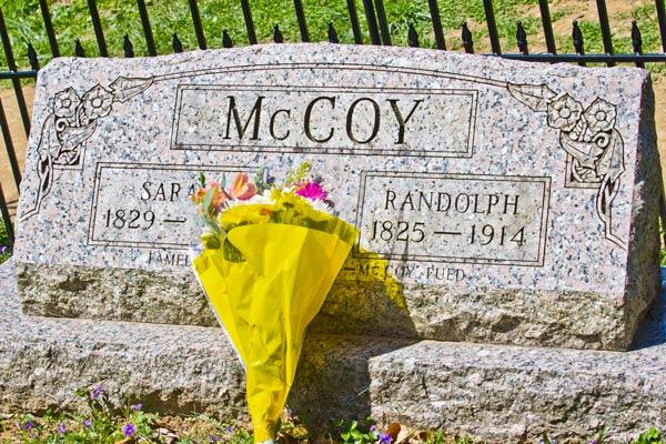 Randolph & Sally McCoy grave