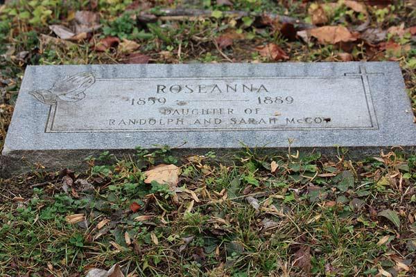 Roseanna McCoy's Grave