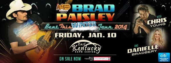 Brad Paisley at the Expo