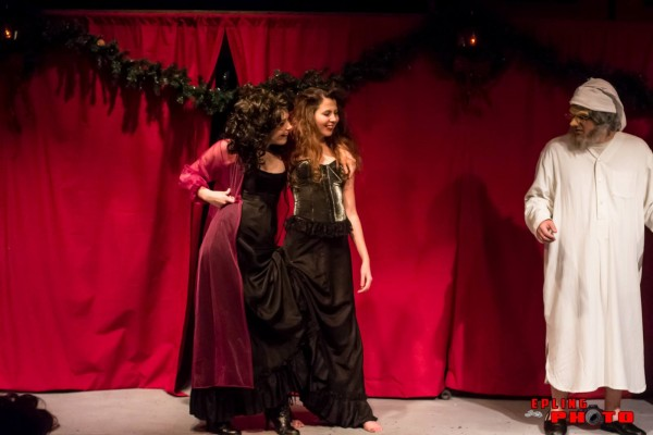 ACT Inc. Presents A Christmas Carol. Photo courtesy of Larry Epling.