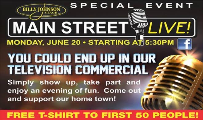 Main Street Live