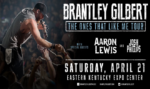 Brantley Gilbert to Perform @ Hillbilly Days 2018