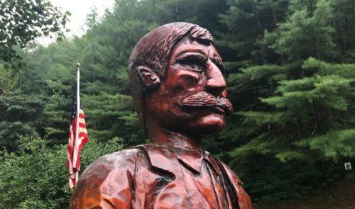 Randolph McCoy statue